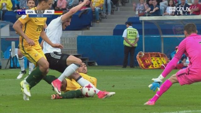 Coupe des Confédérations, Groupe B: Australie – Allemagne 1-2, 44e Draxler [RTS]