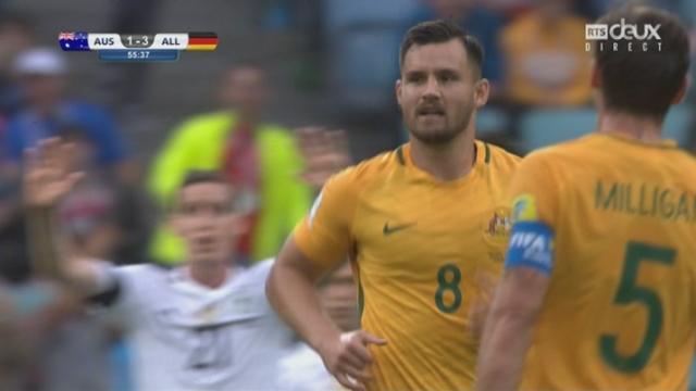 Coupe des Confédérations, Groupe B: Australie – Allemagne 2-3, 56e Juric [RTS]