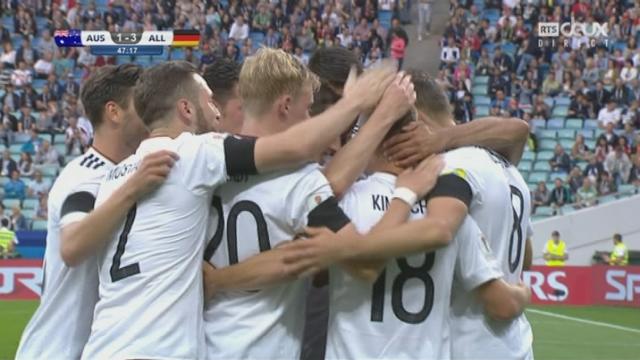 Coupe des Confédérations, Groupe B: Australie – Allemagne 1-3, 47e Goretzka [RTS]