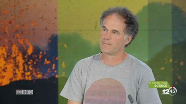 Le rendez-vous science: coup de projecteur sur les volcans avec le géologue Thierry Basset [RTS]