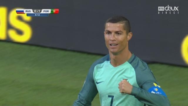 Coupe des Confédérations, Groupe A: Russie – Portugal 0-1, 8e Ronaldo [RTS]