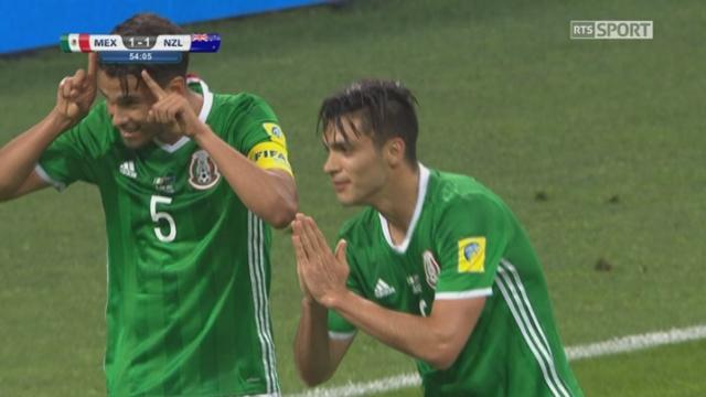 Coupe des Confédérations, Groupe A: Mexique – Nouvelle-Zélande 1-1, 54e Jiménez [RTS]