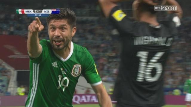 Coupe des Confédérations, Groupe A: Mexique – Nouvelle-Zélande 2-1, 72e Peralta [RTS]