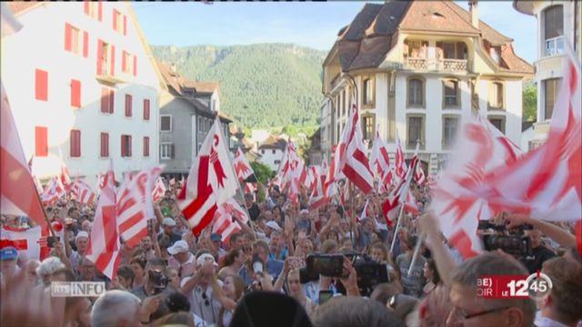 Vote Moutier: les Prévôtois ont voté oui à 51,72% au canton du Jura [RTS]