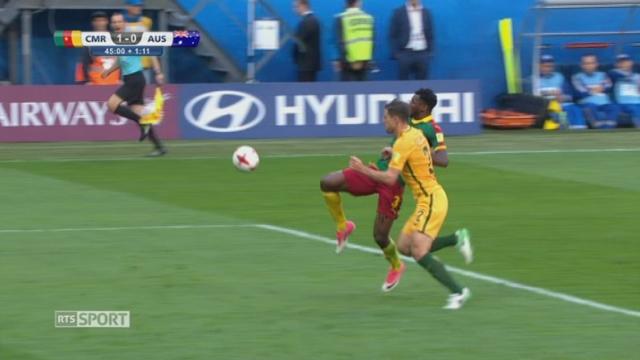 Cameroun - Australie (1-0) [RTS]