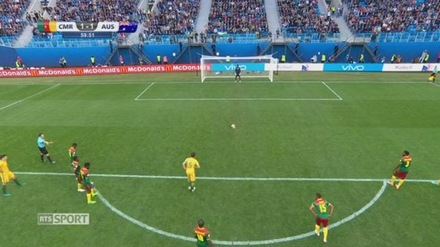Cameroun - Australie (1-1) [RTS]