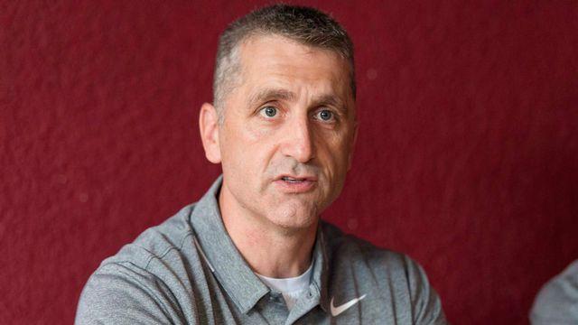 Mark French, le nouvel entraineur du HC Fribourg Gotteron. Thomas Delley Keystone [Thomas Delley - Keystone]