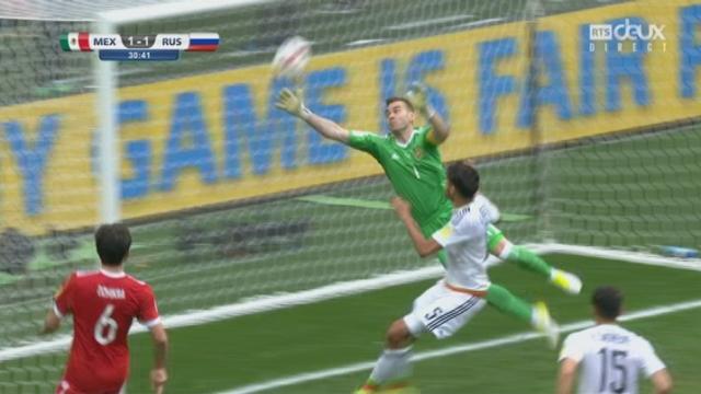 Coupe des Confédérations, Groupe A: Mexique – Russie 1-1, 30e Araujo [RTS]