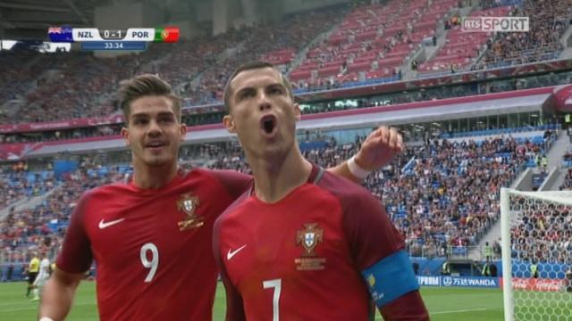 Coupe des Confédérations, Groupe A: Nouvelle-Zélande – Portugal 0-1, 31e Ronaldo [RTS]