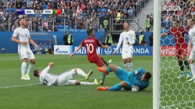 Coupe des Confédérations, Groupe A: Nouvelle-Zélande – Portugal 0-2, 38e Bernardo Silva [RTS]
