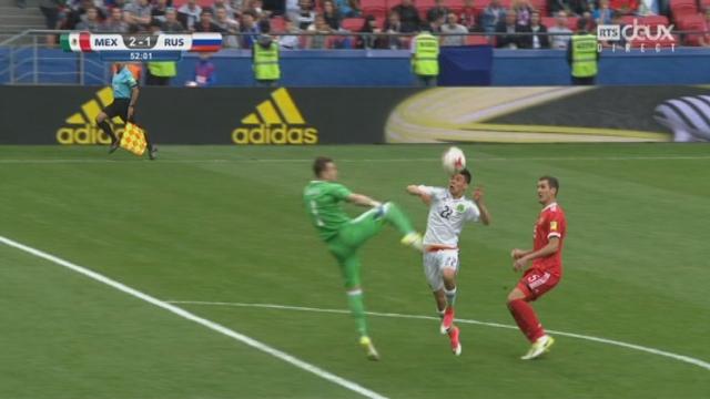 Coupe des Confédérations, Groupe A: Mexique – Russie 2-1, 51e Lozano [RTS]