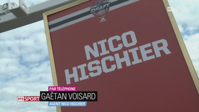 Hockey-NHL-Draft: entretien avec Gaëtan Voisard, agent de Nico Hischier [RTS]