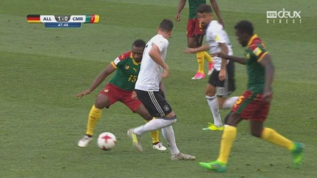 Coupe des Confédérations, Groupe B: Allemagne - Cameroun 1-0, 47e Kerem Demirbay [RTS]