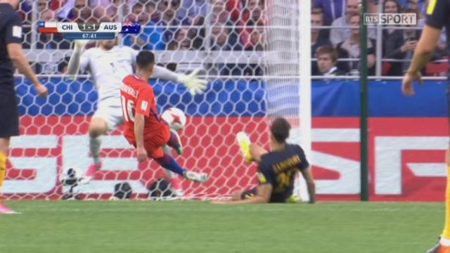 Coupe des Confédérations, Groupe B: Chili - Australie 1-1, 67e Martin Rodriguez [RTS]