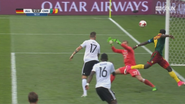 Coupe des Confédérations, Groupe B: Allemagne - Cameroun 2-1, 78e Vincent Aboubakar [RTS]