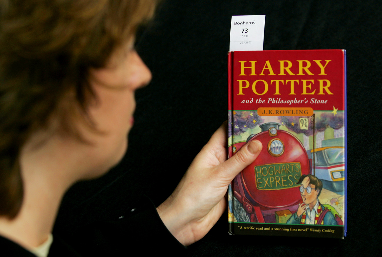 Une édition originale du premier des sept volets de la saga Harry Potter.