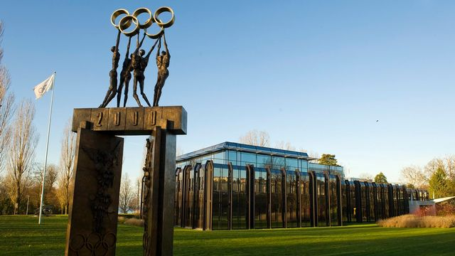 Le siège du CIO à Lausanne. [Laurent Gillieron - Keystone]
