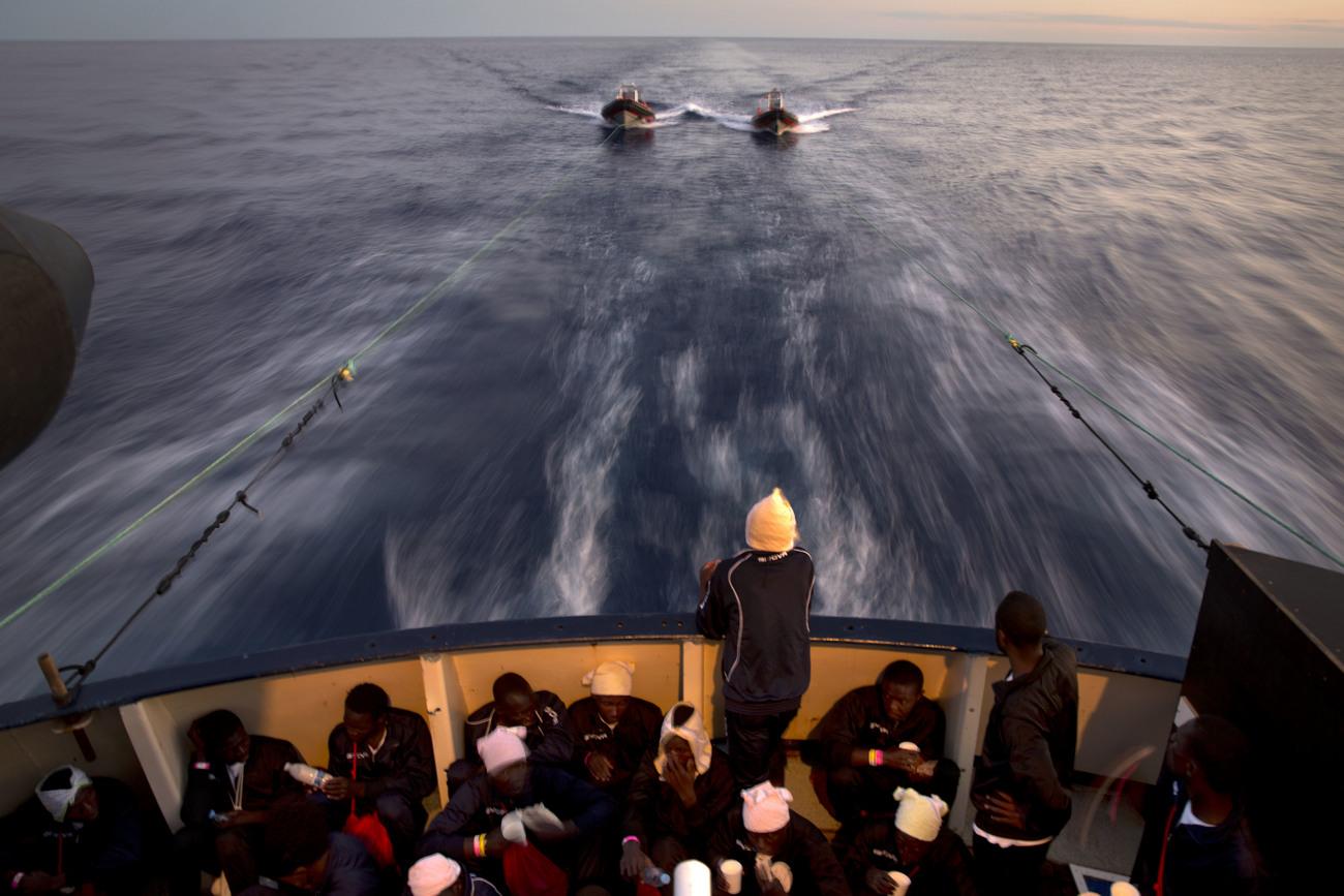 Méditerranée: plus de 8.000 migrants secourus en 48 heures