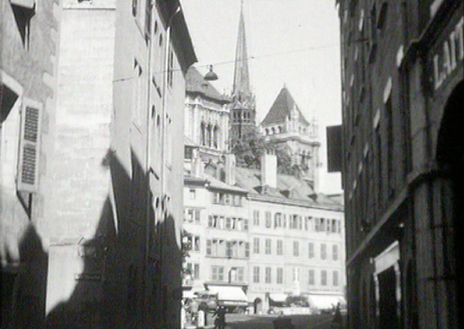 La vieille-ville de Genève