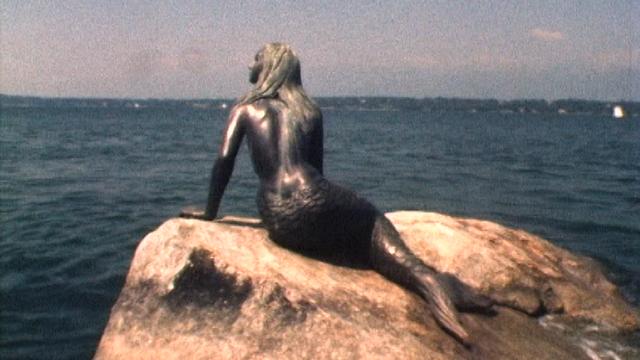 La petite sirène à Genève en 1976. [RTS]