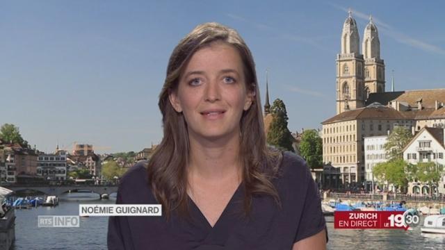 Publication du rapport Garcia: l'éclairage de Noémie Guignard [RTS]