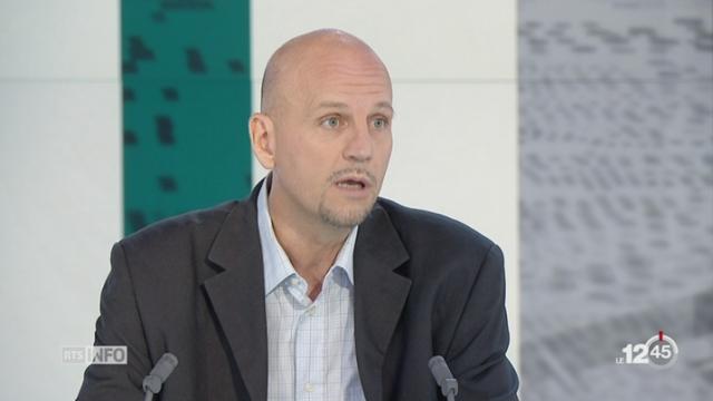 Cyberattaque au rançongiciel: entretien avec Stéphane Koch, spécialiste en sécurité de l'information [RTS]