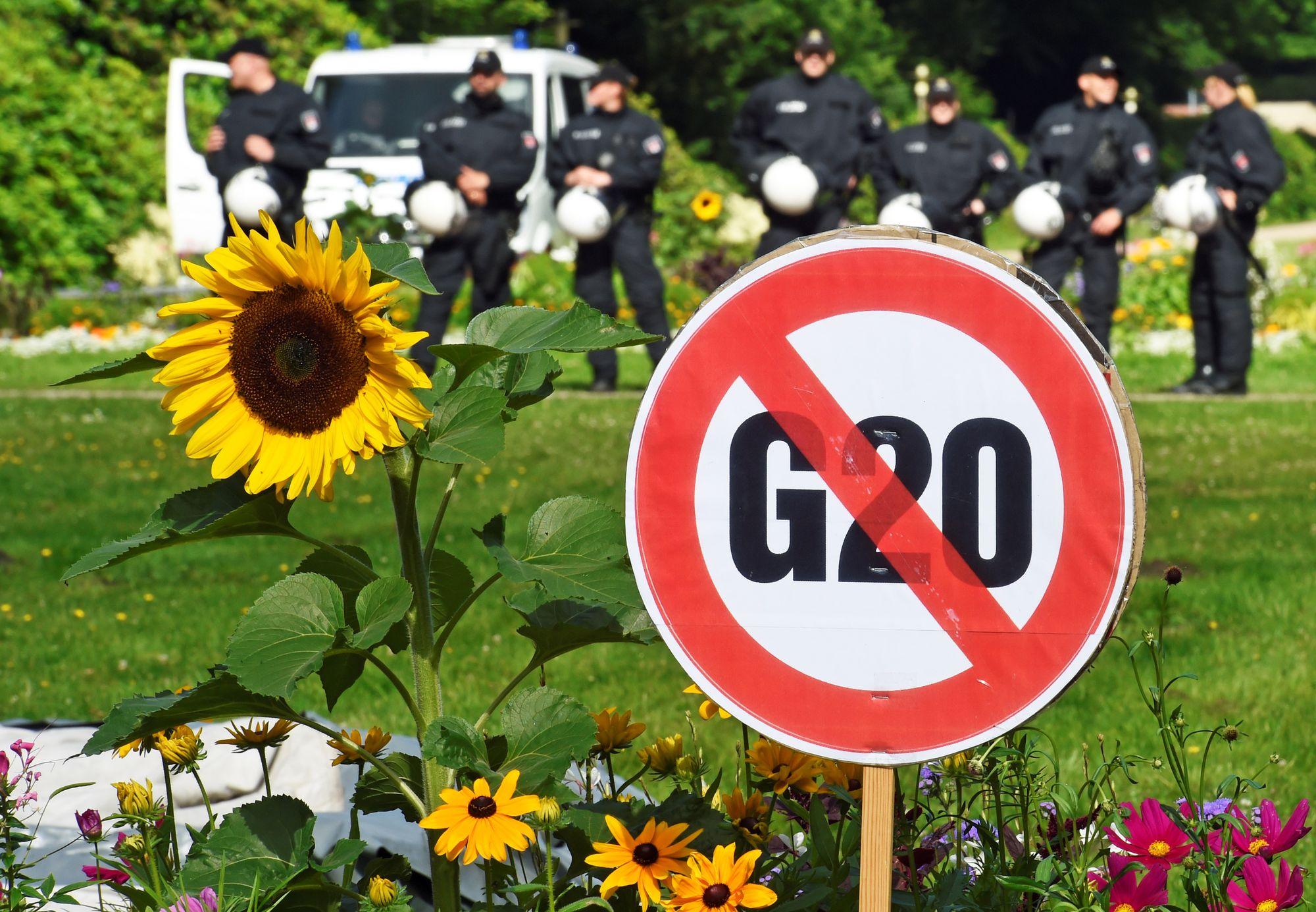 La chancelière allemande s'en prend à Trump avant un sommet du G20