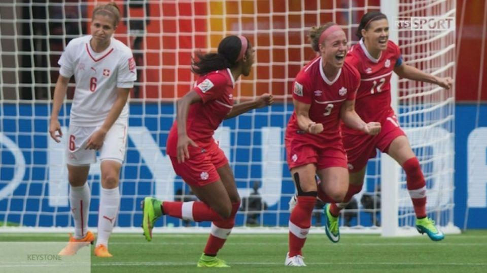 Martina Voss-Tecklenburg et l'élimination contre le Canada [RTS]