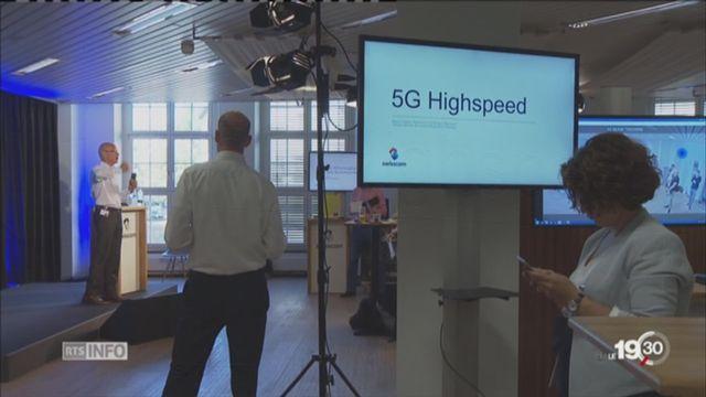 Transfert de données 5G: 100 fois plus rapide [RTS]