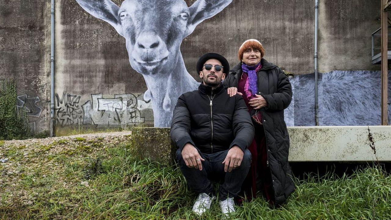 """""""Visages Villages"""" avec Agnès Varda et JR. [Le Pacte]"""