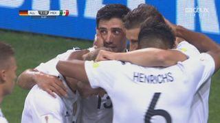 Coupe des Confédérations, Demi-finale, Allemagne - Mexique 1-0: 6e Leon Goretzka [RTS]