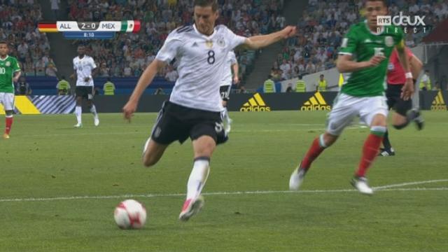 Coupe des Confédérations, 1-2, Allemagne - Mexique 2-0: 8e Leon Goretzka [RTS]