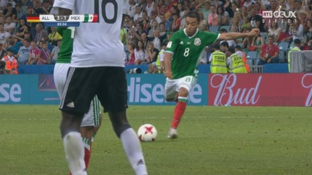 Coupe des Confédérations, 1-2, Allemagne - Mexique 3-1: 89e Marco Fabian [RTS]