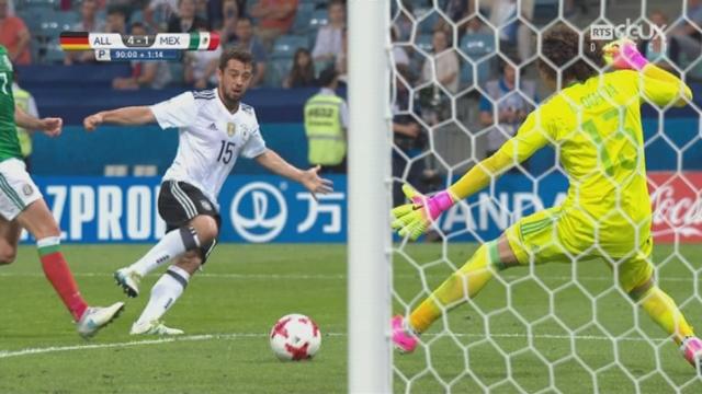 Coupe des Confédérations, 1-2, Allemagne - Mexique 4-1: 91e Amin Younes [RTS]