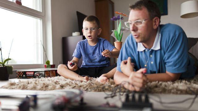 L'autorité parentale conjointe ne doit pas être systématique, estime le TF. [Gaëtan Bally - Keystone]