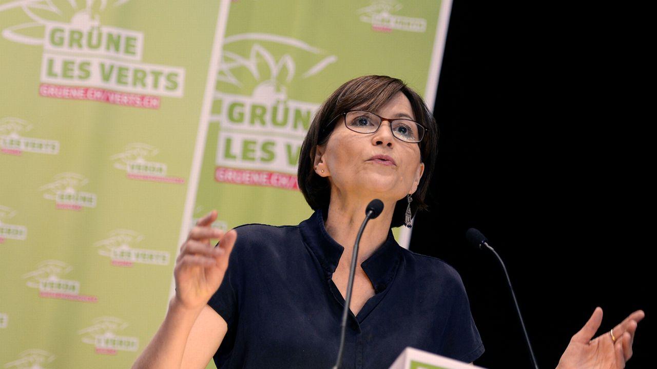 Regula Rytz, présidente des Verts. [Walter Bieri - Keystone]