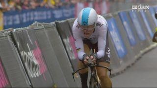 Etape 1: Geraint Thomas (GBR) remporte l'étape devant Stefan Küng (SUI) et Vasil Kiriyenka (BLR) [RTS]