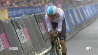 Tour de France: Stefan Küng termine à 5 secondes du premier [RTS]