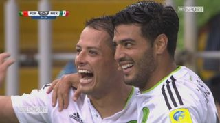 Coupe des Confédérations, petite finale: Portugal - Mexique 0-1, 54e Luis Neto CSC [RTS]