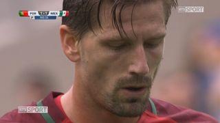 Coupe des Confédérations, petite finale: Portugal - Mexique 2-1, 104e Adrien Silva [RTS]