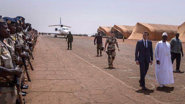 Une nouvelle force a vu le jour lors du G5 Sahel. [Christophe Petit Tesson - Keystone]