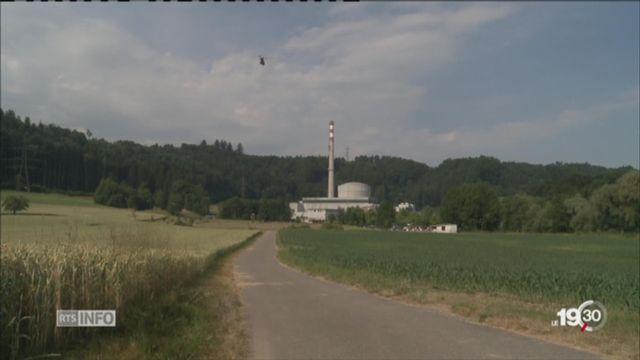 Suisse: des centrales nucléaires surveillées par hélicoptères [RTS]