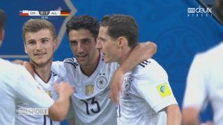 Coupe des Confédérations, petite finale: Chili - Allemagne 0-1, 20e Stindl [RTS]