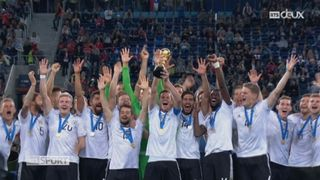 Coupe des Confédérations, finale: Chili - Allemagne 0-1, Draxler soulève la coupe des Confédérations [RTS]