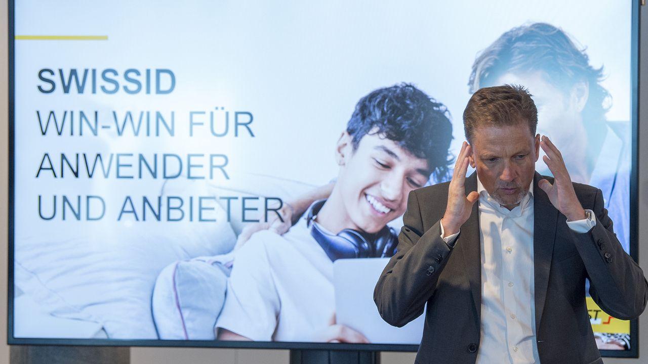 Le projet Swiss ID a été présenté par La Poste et les CFF. [Keystone]