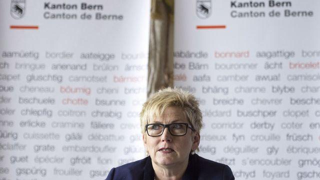 Béatrice Simon, directrice bernoise des Finances. [Peter Schneider - Keystone]