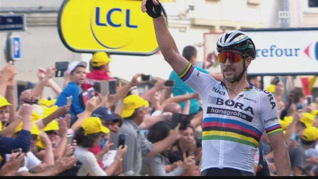 Etape 3: Sagan (SVK) s'impose au sprint à Longwy [RTS]