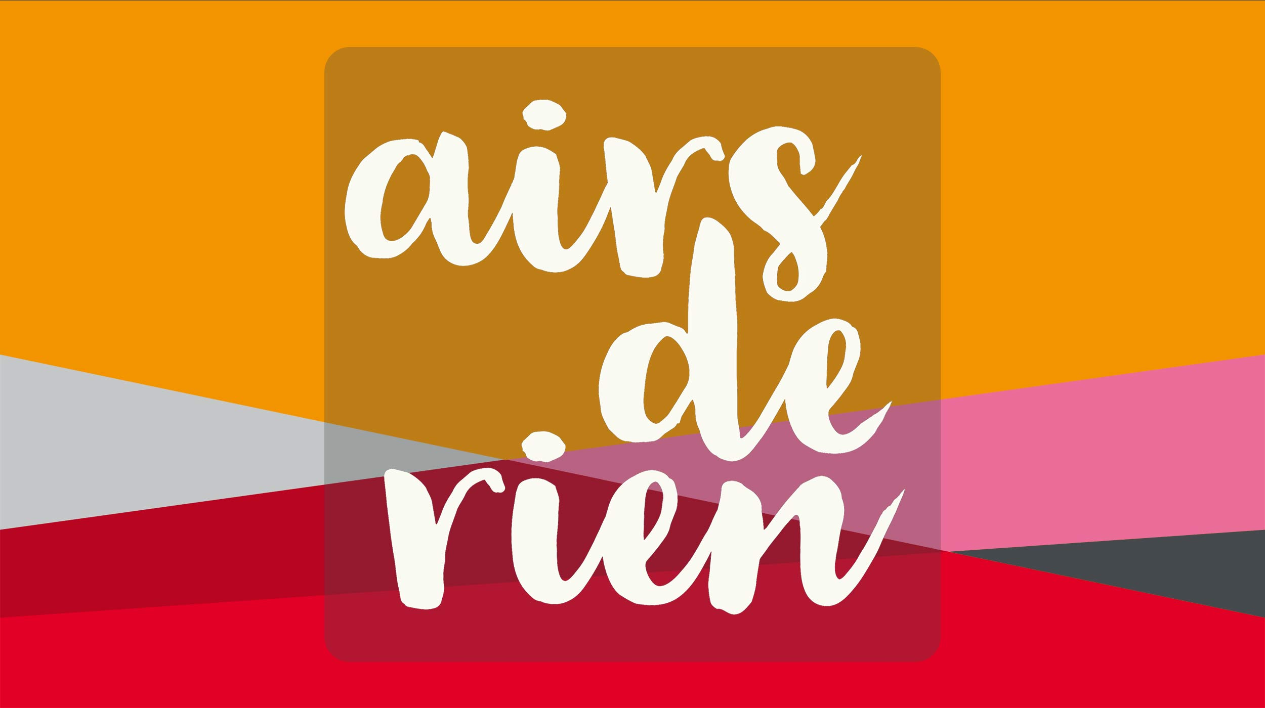 Logo Airs de rien. Pascal Bernheim [RTS]