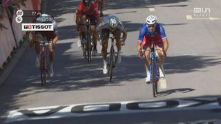 our de France, 4e étape: victoire d'Arnaud Démare au sprint après un final marqué par deux chutes [RTS]