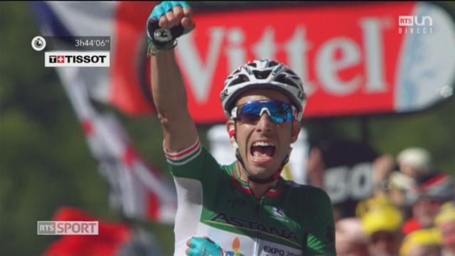 Tour de France, 5e étape: Aru (ITA) gagne devant Martin (IRL)  et Froome (GBR) [RTS]